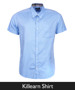 Barbour Killearn Short Sleeved Shirt from Philip Morris and Son