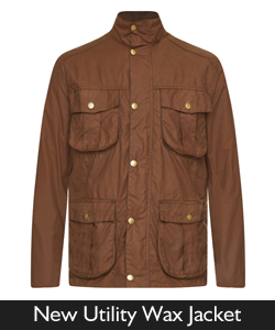 Barbour New Utility Wax Jacket from Philip Morris and Son