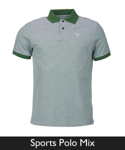 Barbour Sports Polo Mix from Philip Morris and Son