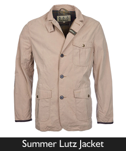 Barbour Summer Lutz Jacket for SS16