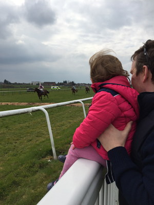 Willow enjoying Point to Point