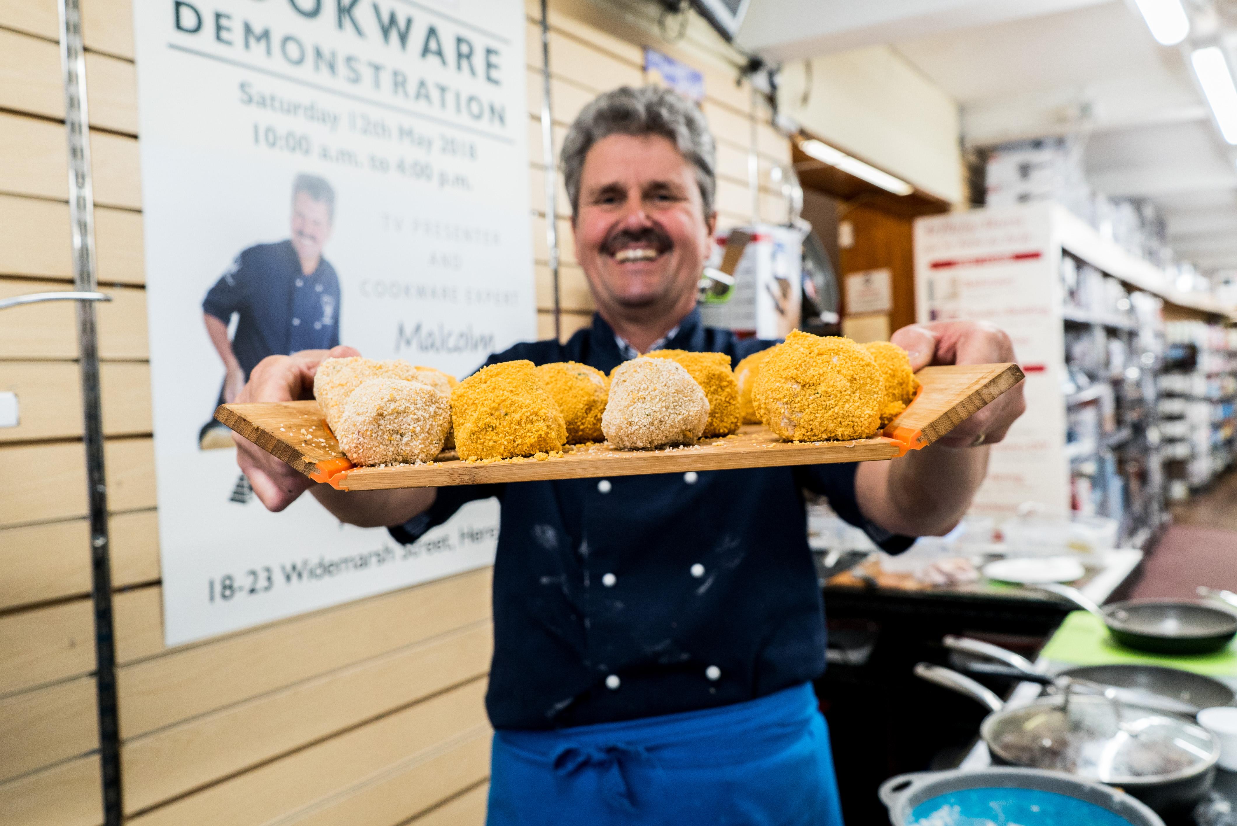 Salmon Fishcakes Recipe by Malcolm Harradine