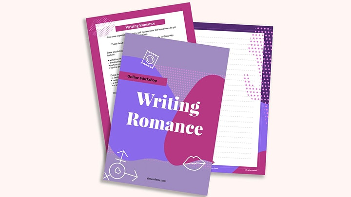 Writing Romance booklet