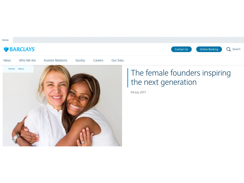 'The female founders inspiring the next generation' article