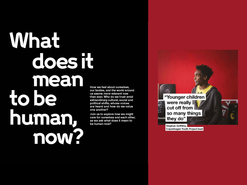 What does it mean to be human, now? ad