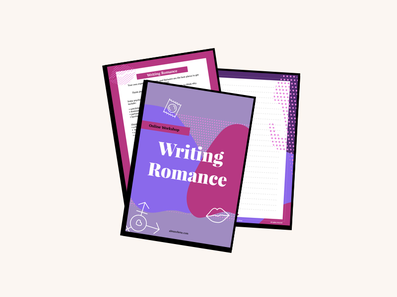 writing romance work booklet