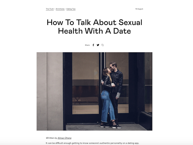 Badoo_How To Talk About Sexual Health With A Date