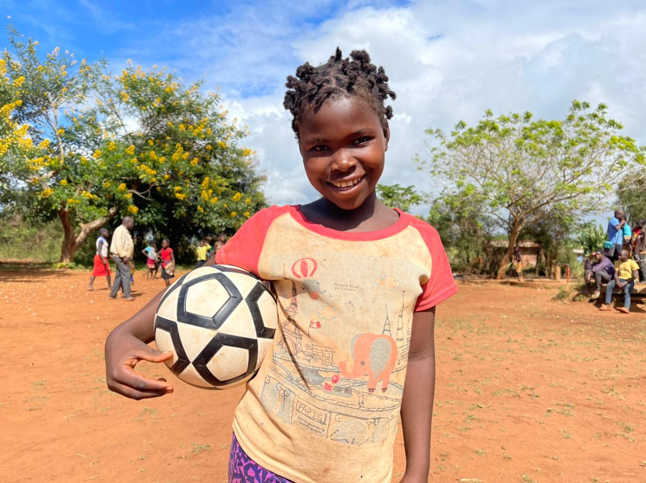 11 year old Maria - student at Marera primary school, Mozambique and member of the girls club