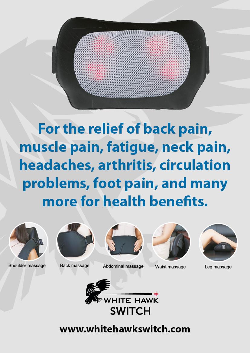 The switch massage cushion