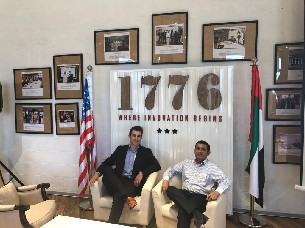 work-day at the Smart Dubai Office blockchain challange