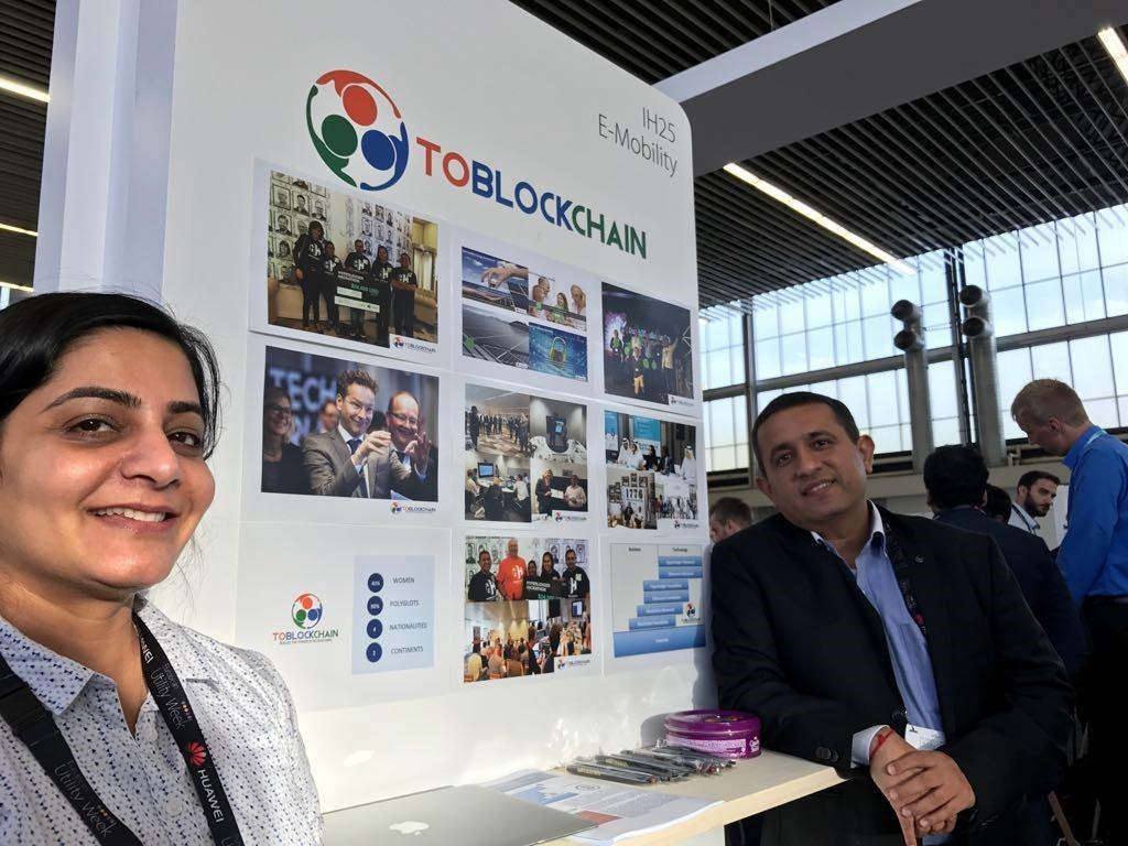 toblockchain at European Utility Week 2017