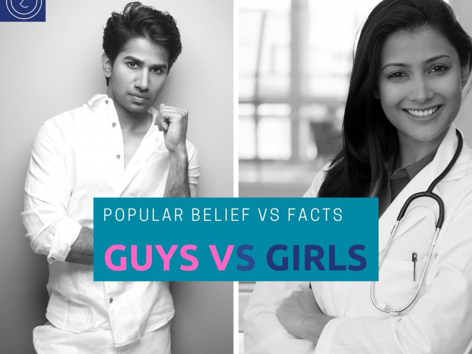 GUYS VS GIRLS