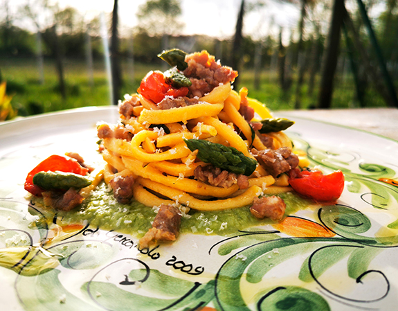 """🇮🇹""""Italian meals it isn't food just, but It's a real philosophy of life"""" V.S."""