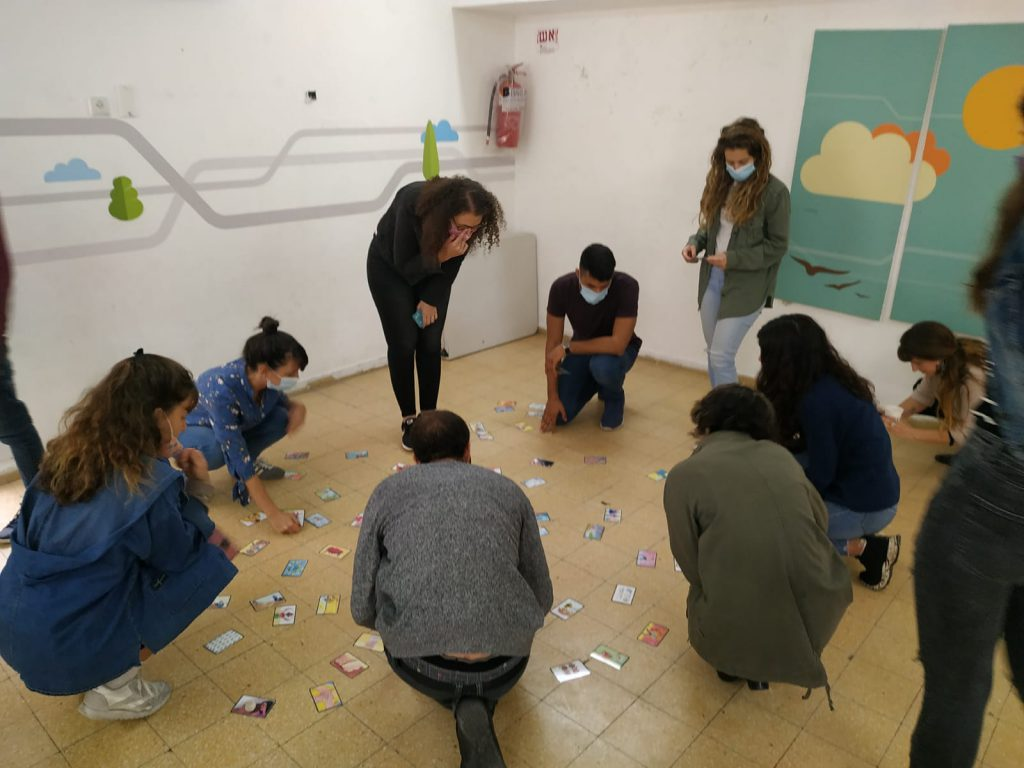 Students' training in Yad Eliyahu community