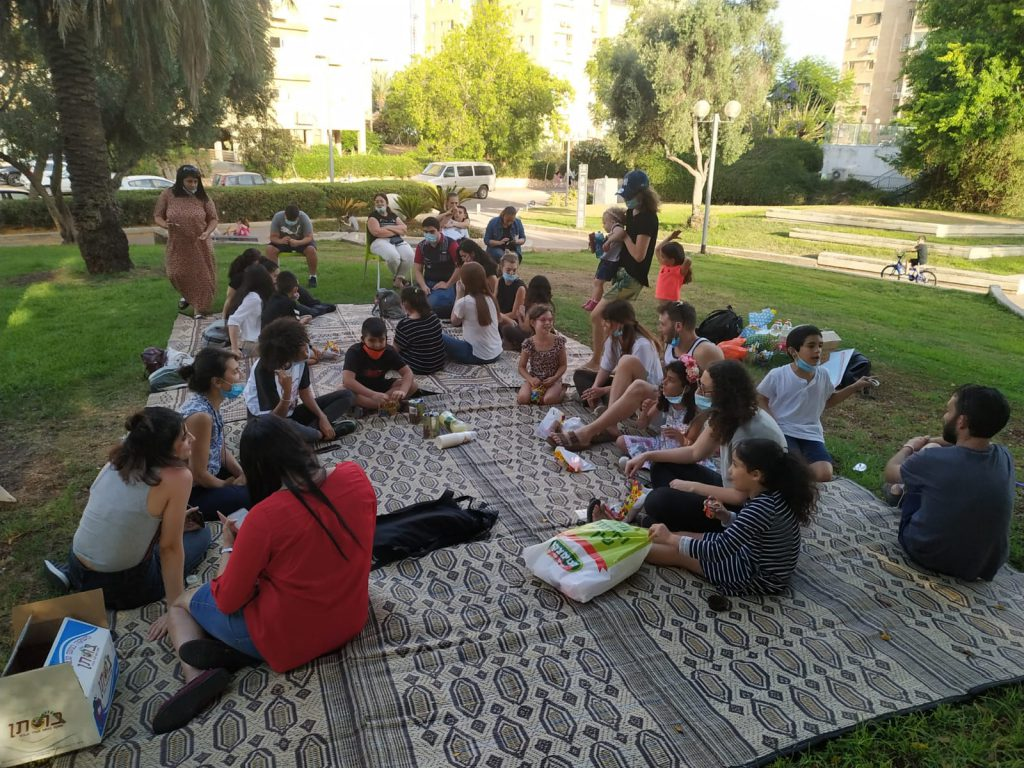 End of Year activity in Yad Eliyahus' learning center