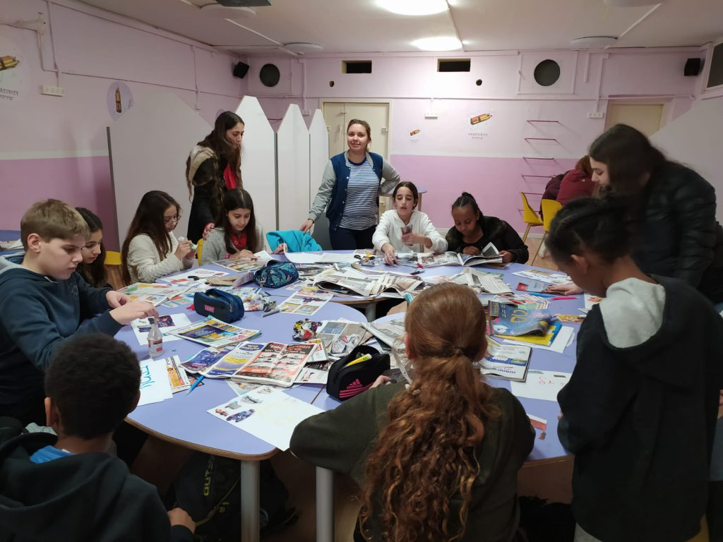 the Learning Center in Shikuney Talpiyot community