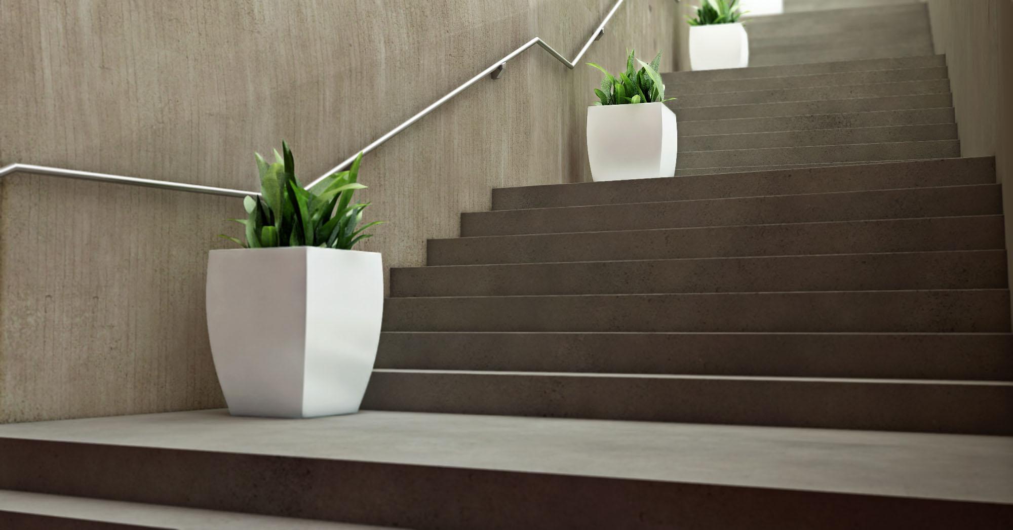 3d product rendering flower pot credo