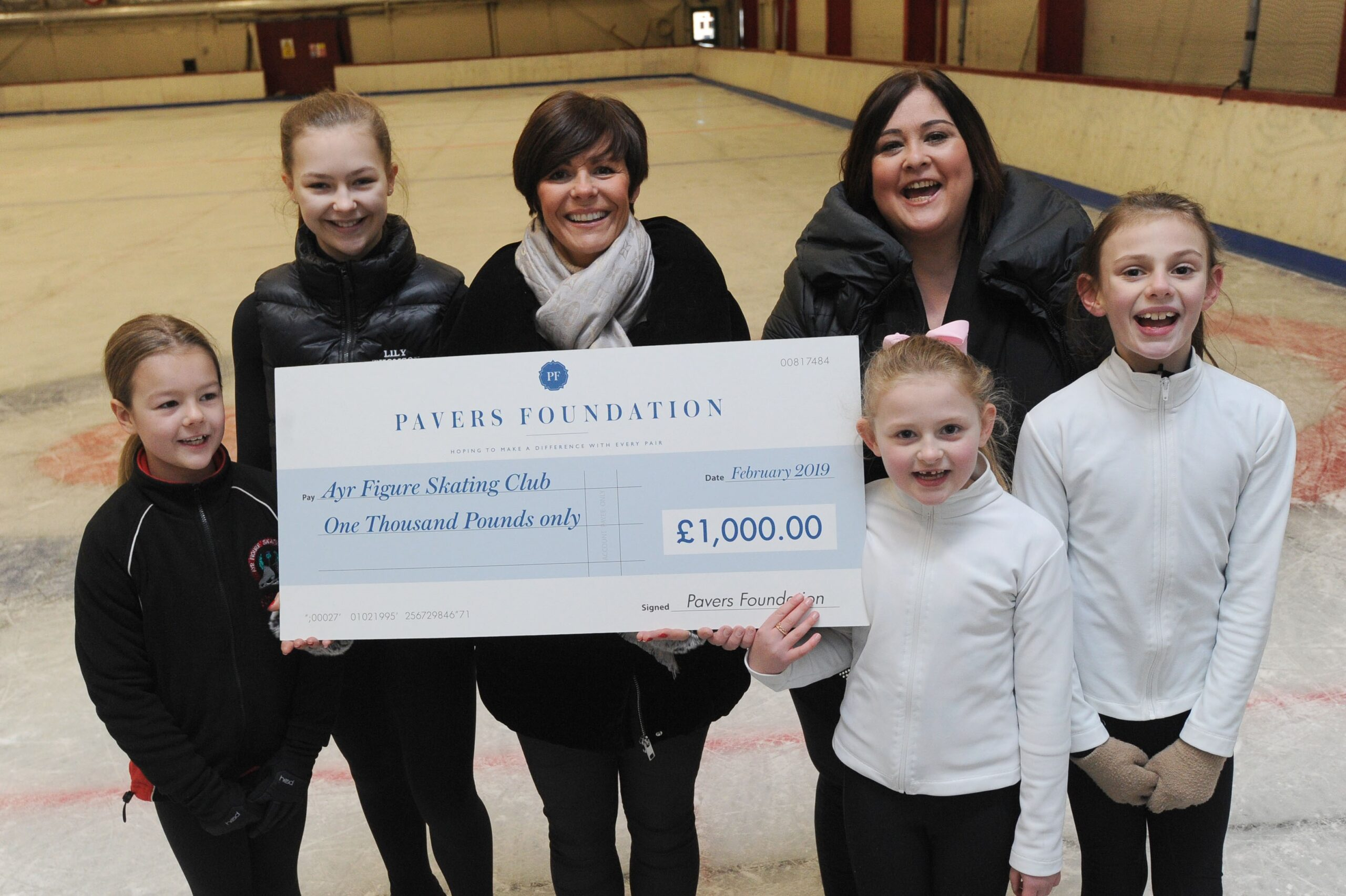 Ayr Figure Skating Club puts best skate forward with The Pavers Foundation