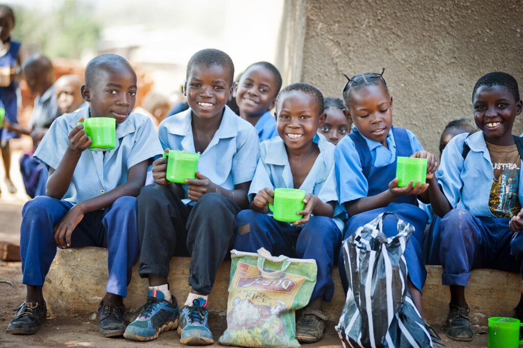 The Double The Love campaign will help Mary's Meals reach more hungry children in Zambia