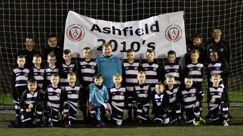 Ashfield Juniors 2010's Grant Win