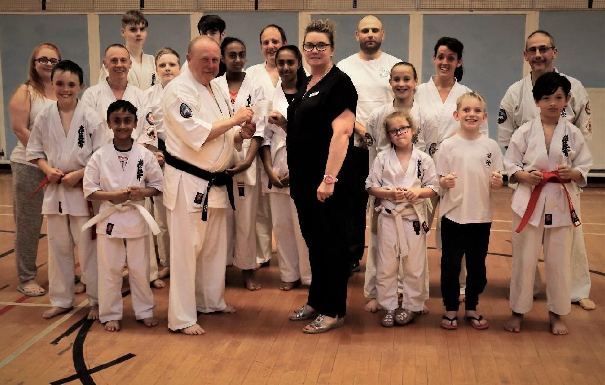 Pavers Foundation Supports Cwmbran Kyokushinkai Karate