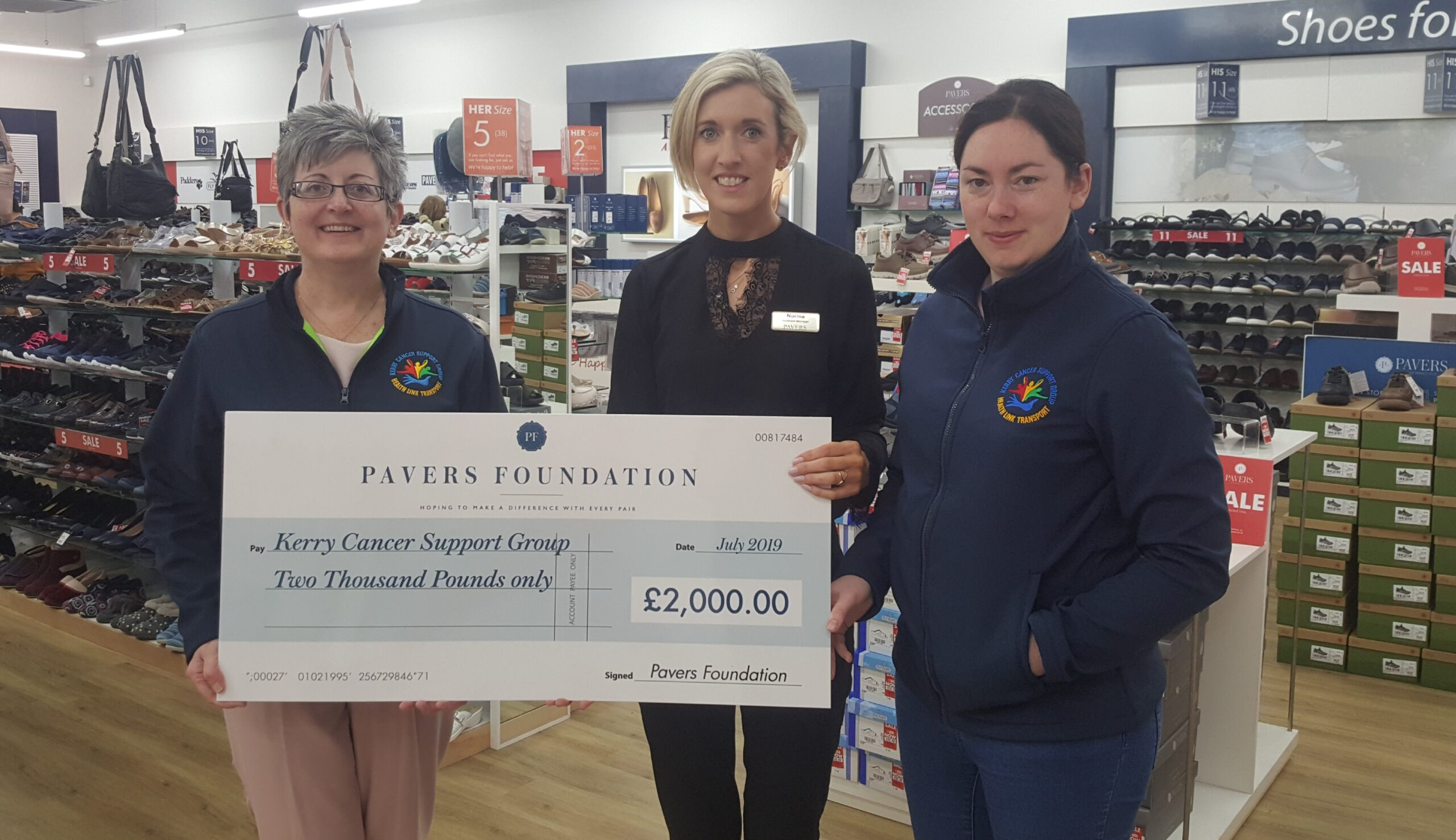 Driving recovery with the Kerry Cancer Support Group