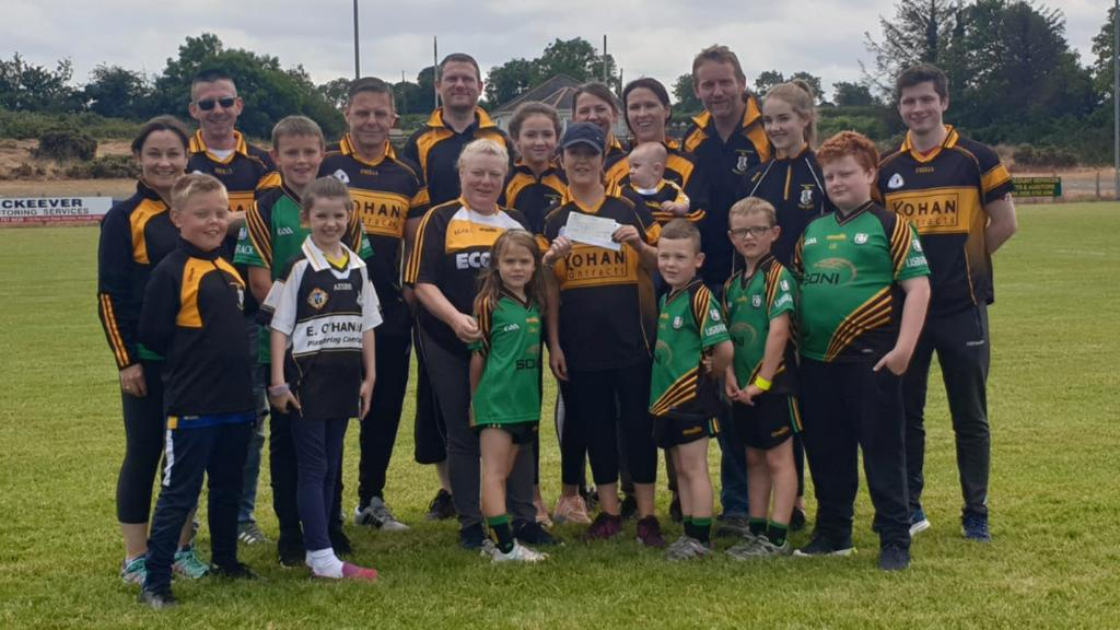 Funding boost for Mullabrack Gaelic Football Club!