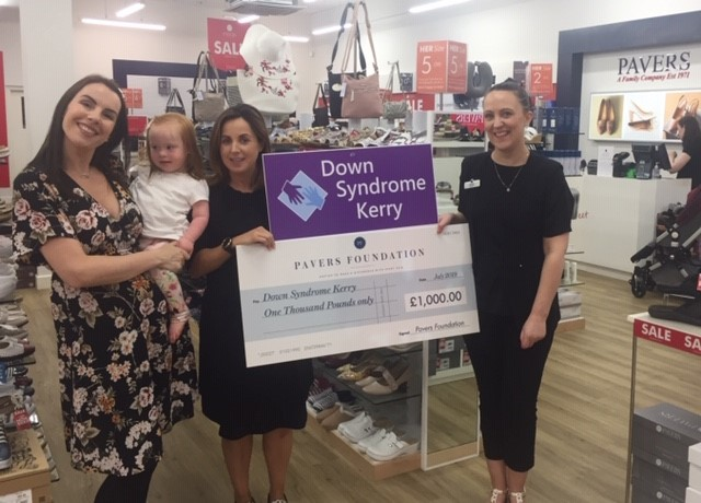 £1,000 Funding Boost for Down Syndrome Kerry