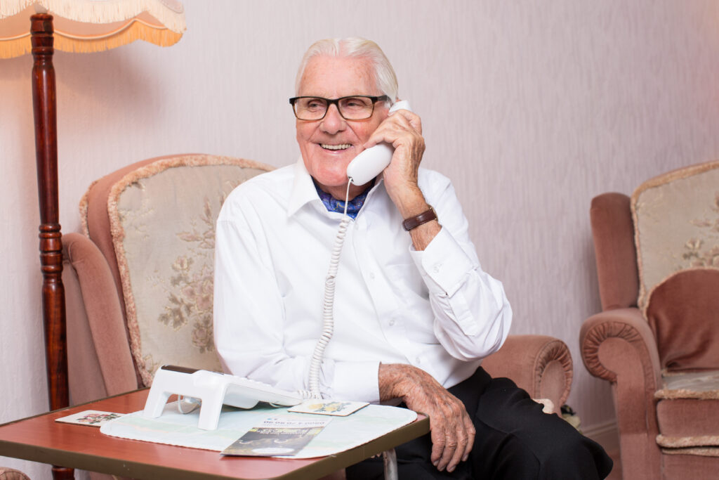 Bob and Davina   Bob lost his wife cath to Alzheimers,   Sport relief help set up silverline support is just a telephone call away. which is a vital lifeline and offers support to those that need help or that are lonely   sport relief 2015 appeal film with Davina