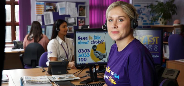 The Stroke Association Helpline