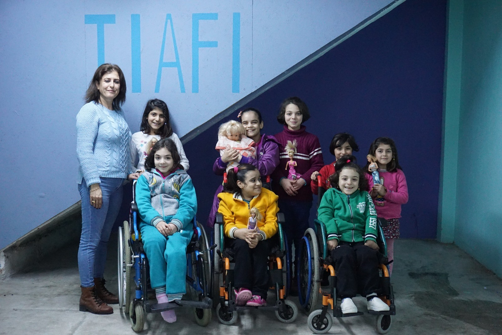 TIAFI: An organisation supporting vulnerable people in Turkey