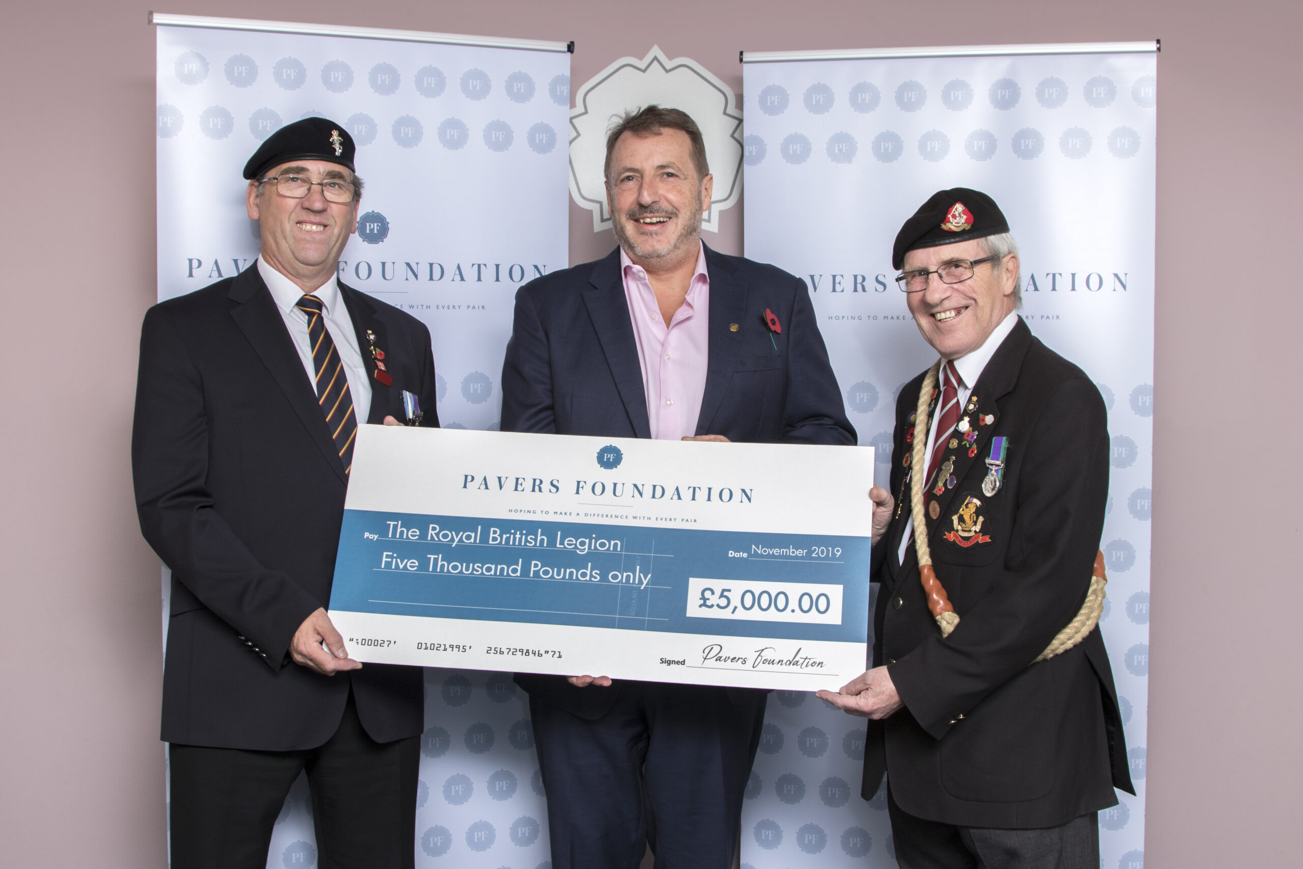 We have supported The Royal British Legion's Poppy Appeal!