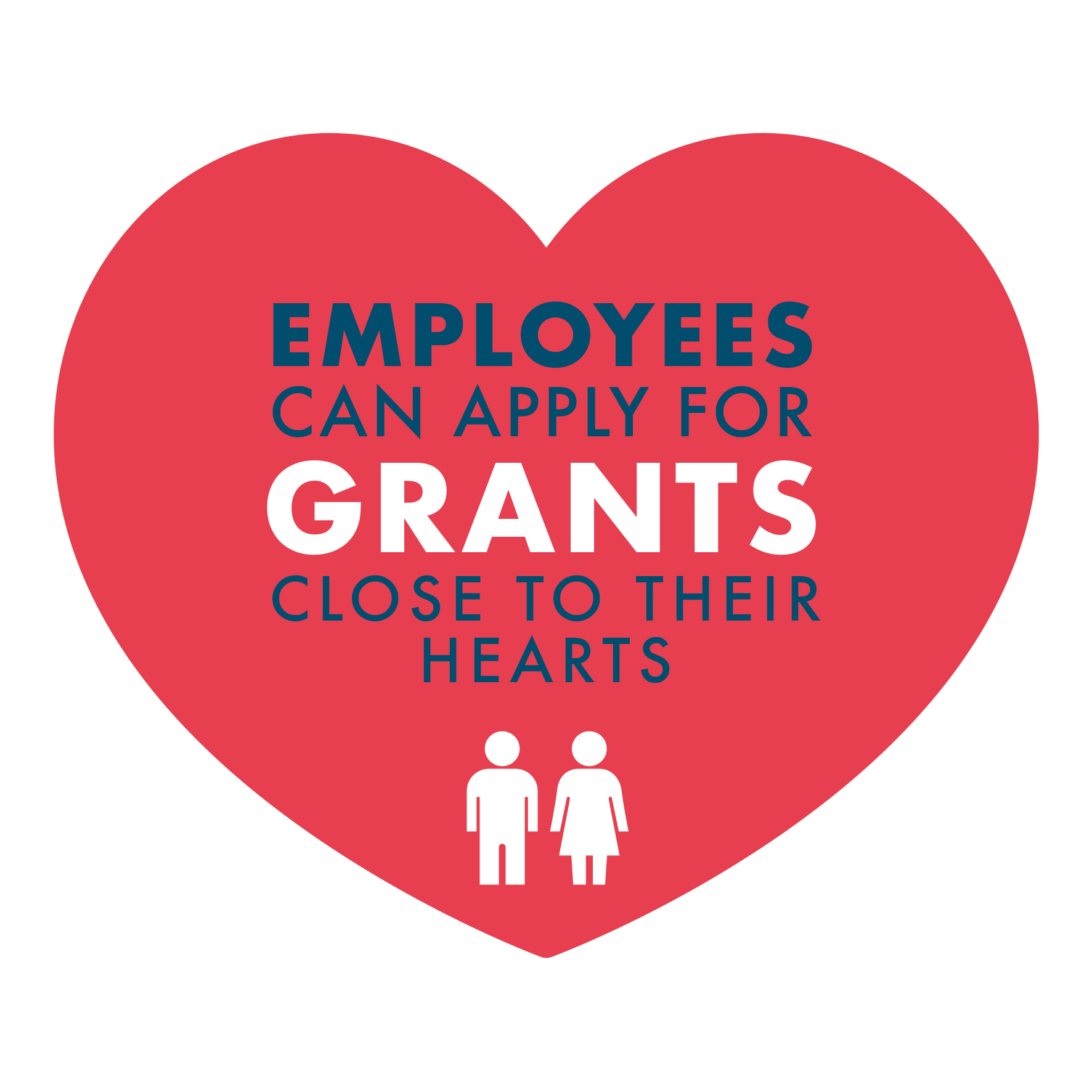 Employees can apply for grants close to their hearts