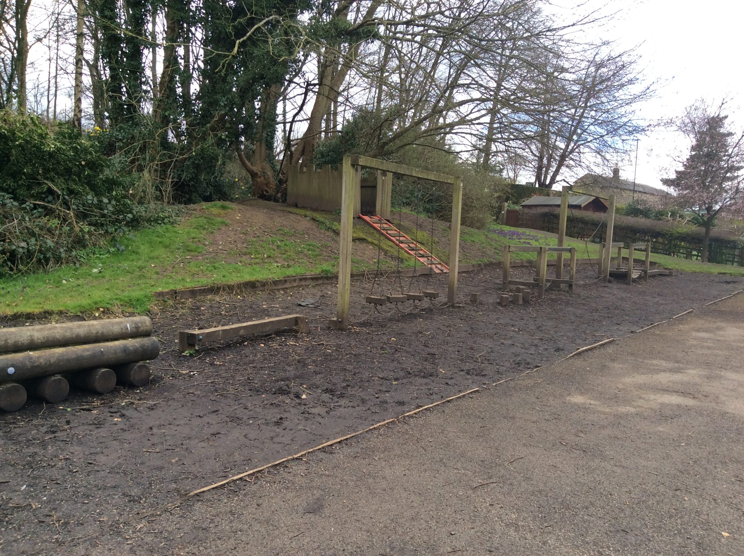 St Mary's existing adventure playground