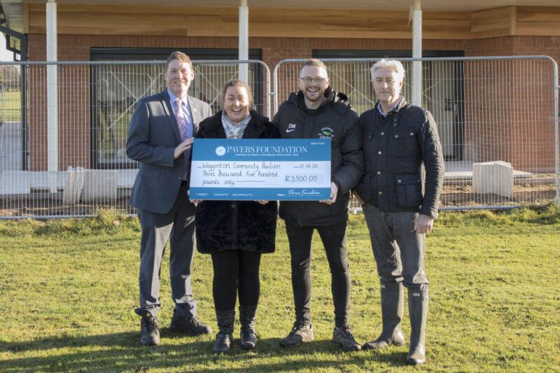 Wigginton Community Pavilion Receives a Local Donation
