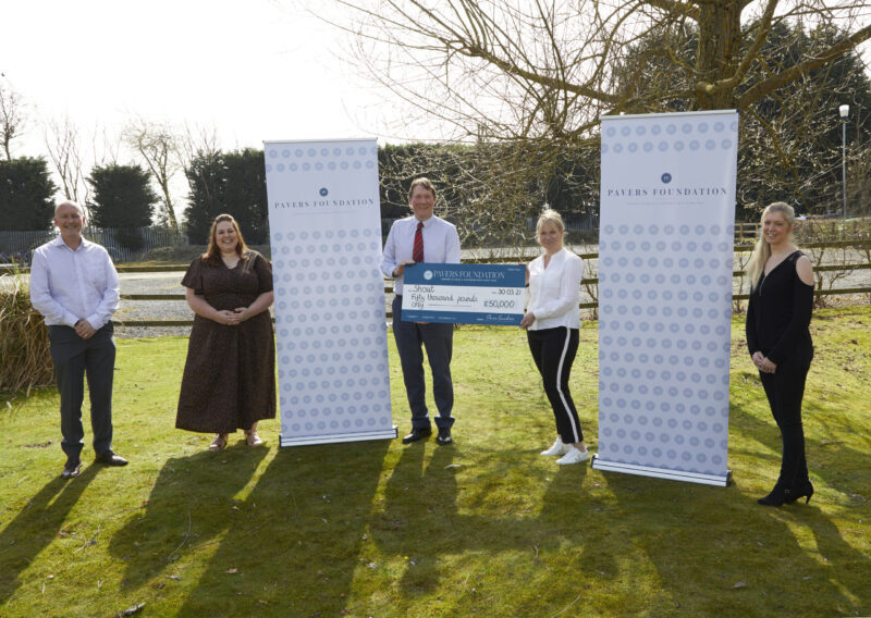 The Pavers Foundation Donates £50,000 to Mental Health Charity Shout 85258