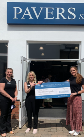 Pavers Foundation Gives £1,000 to Essex Children's Play Centre