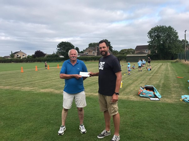 Pavers Foundation Matches Fundraising by Grassroots Cricket Club
