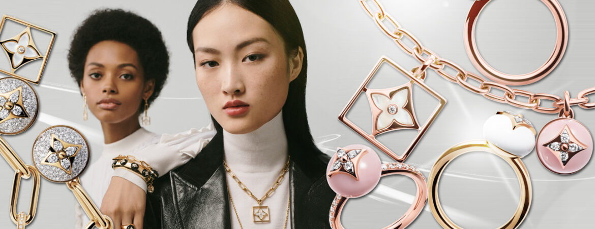 """LOUIS VUITTON'S MONOGRAM FLOWERS TAKE OVER """"B BLOSSOM"""" JEWELLERY COLLECTION"""