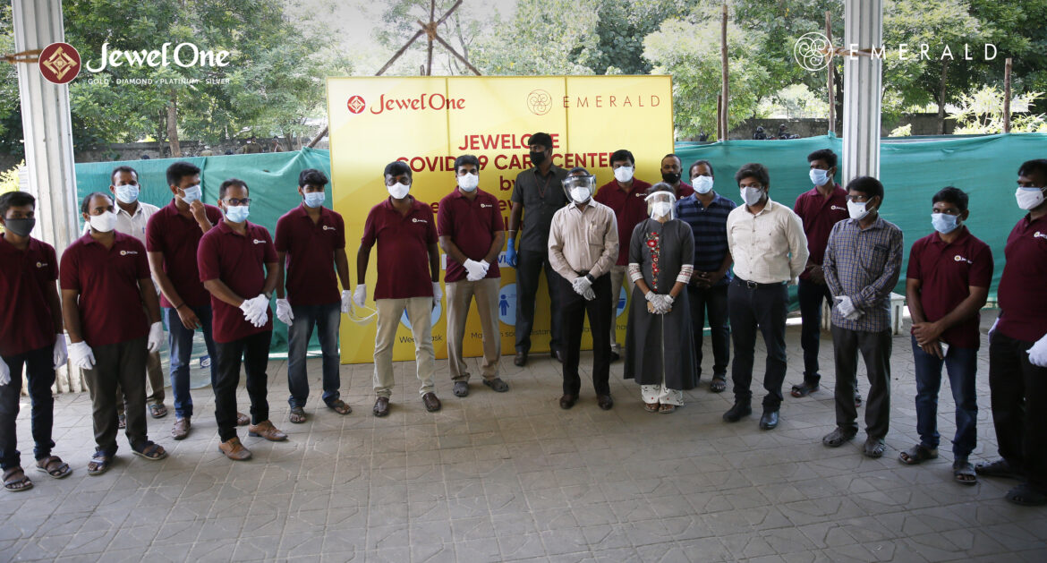 JewelOne Joins the Fight Against Covid-19 in Coimbatore with a 300 Bed Covid Care Centre
