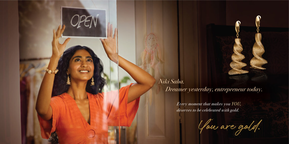 'You Are Gold' Campaign Launched To Allure Youth Towards Gold Jewellery