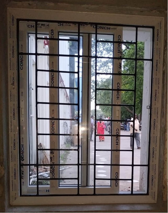 uPVC Window With Grill
