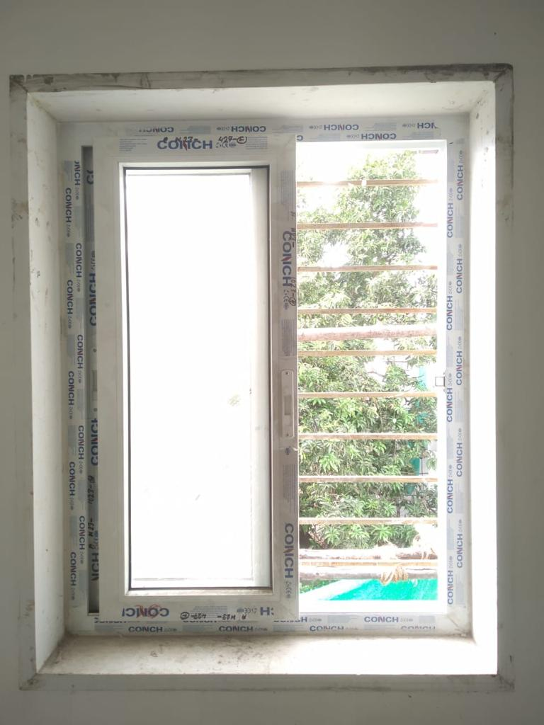 Window With Pinned Glass