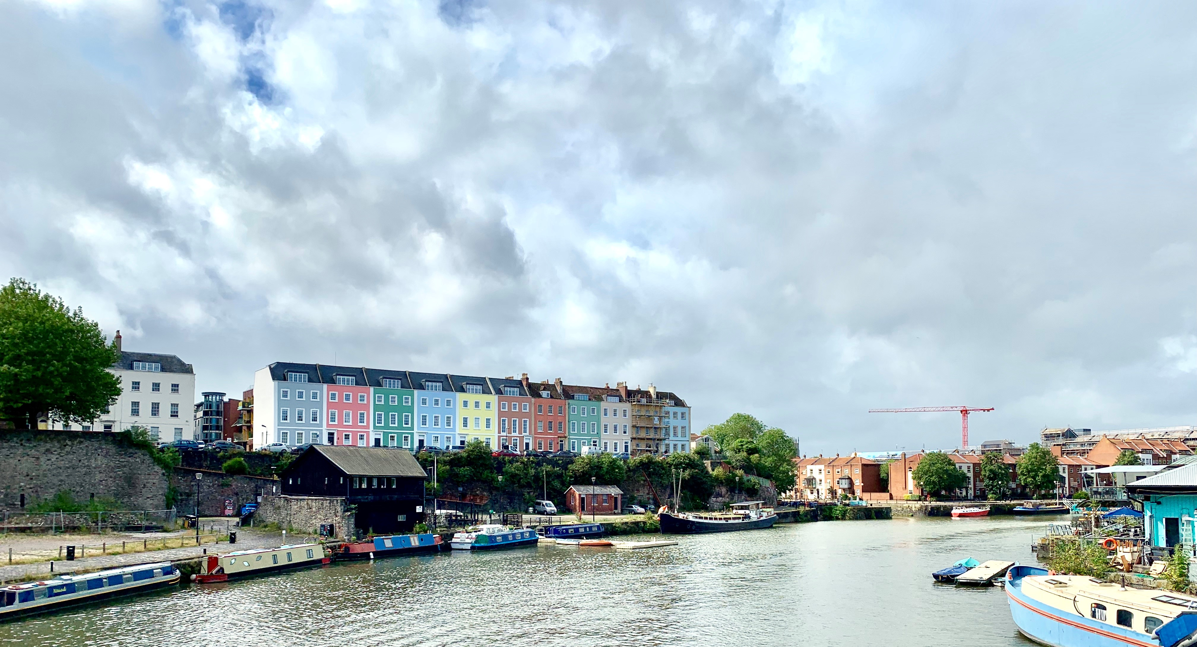 View of Bristol at the Harbour