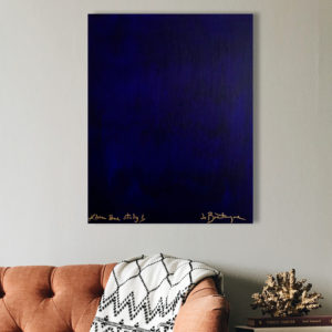 Study in Klein Blue 1