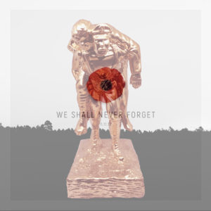 Alix Debretagne Remembrance Day Sculpture