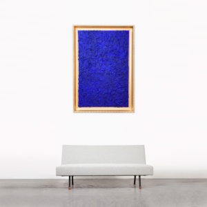 Study in Klein Blue 30 in situ