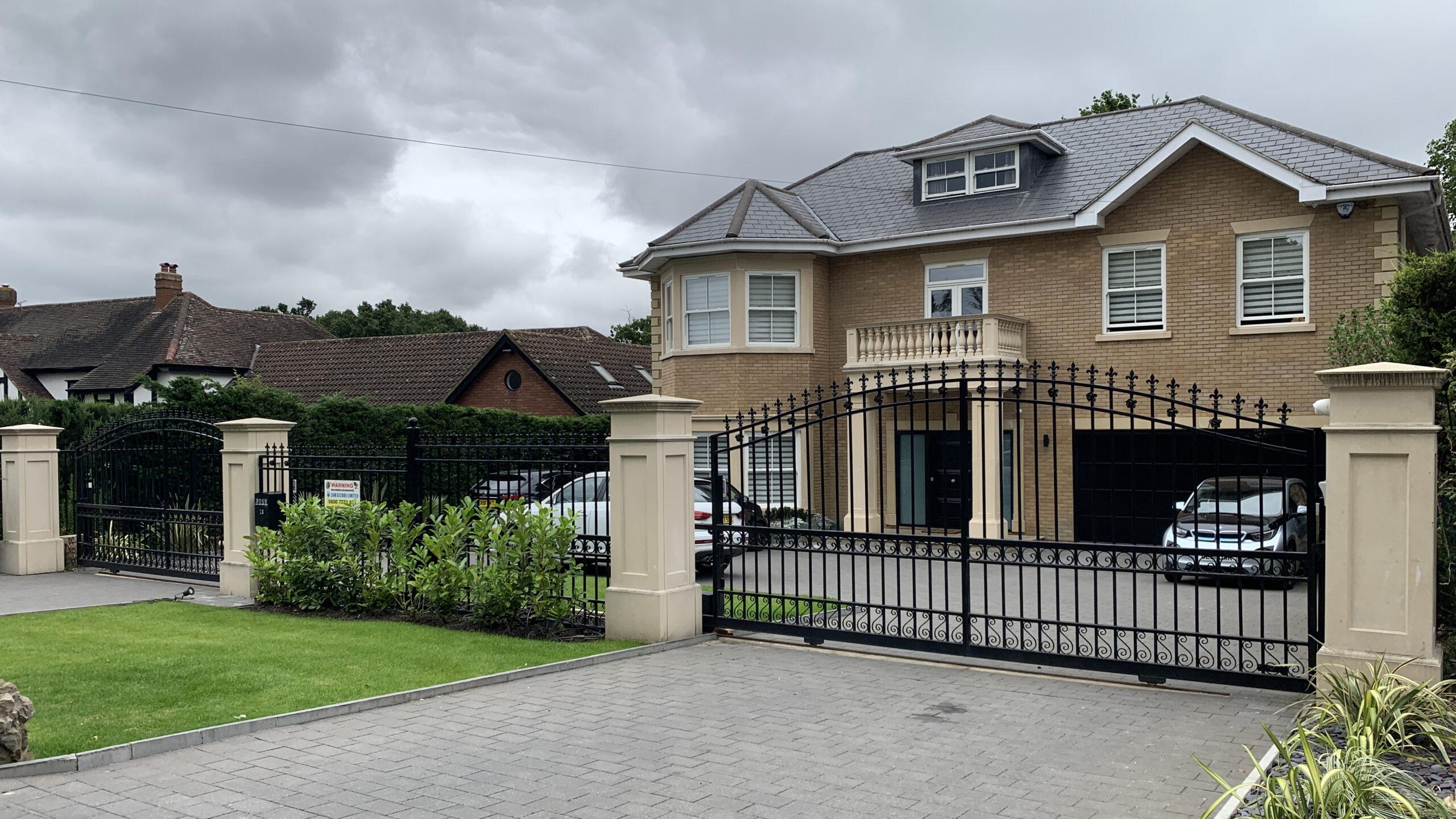 railings, metalwork, construction, gates