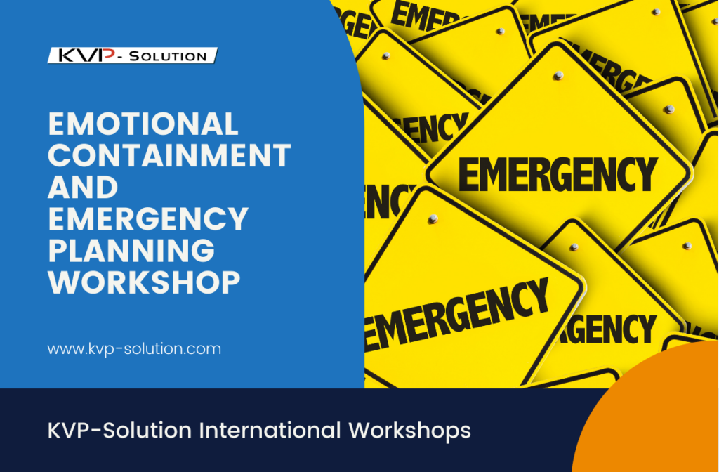 Image representing title for Emotional Containment and Emergency Planning
