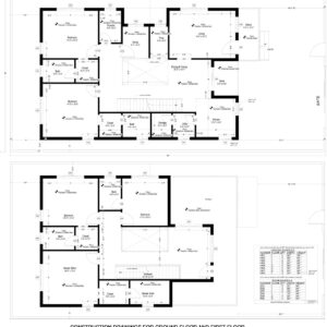 Construction drawings-4-bedroom-house-design-Houzone